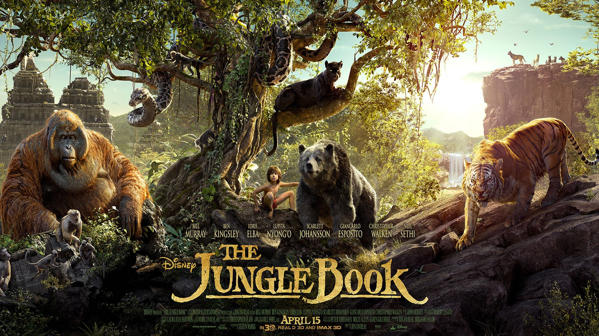 The Jungle Book movie poster (short film and movie news)