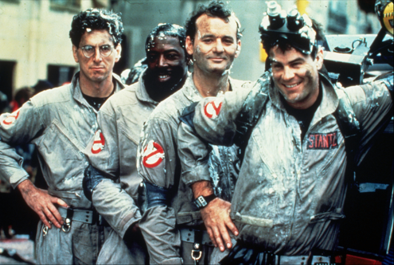 The Original Ghostbusters cast (movies and short film)
