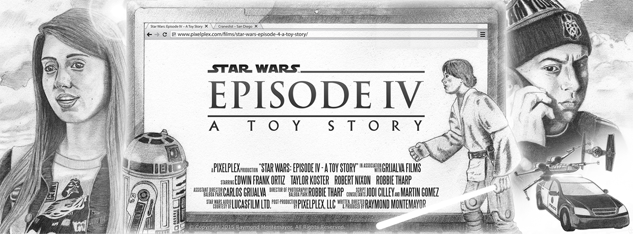 Star Wars Episode 4-A Toy Story (short film and movie news)